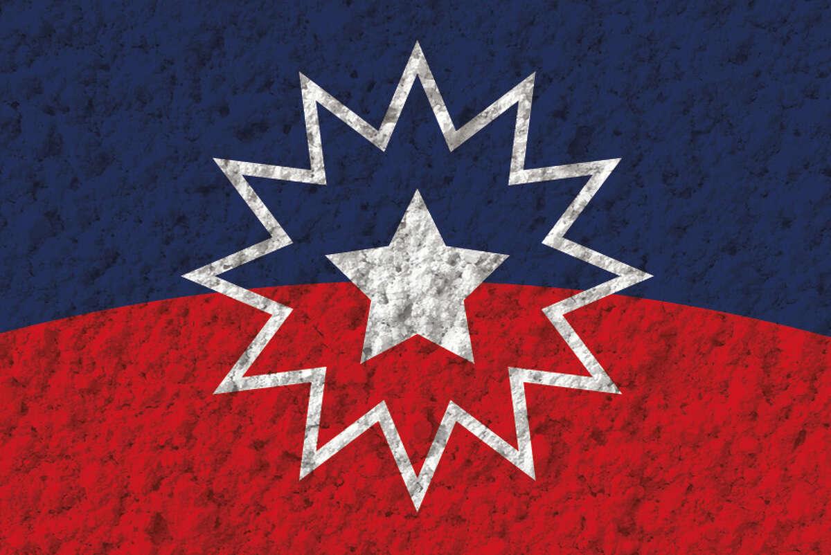 The Juneteenth flag.