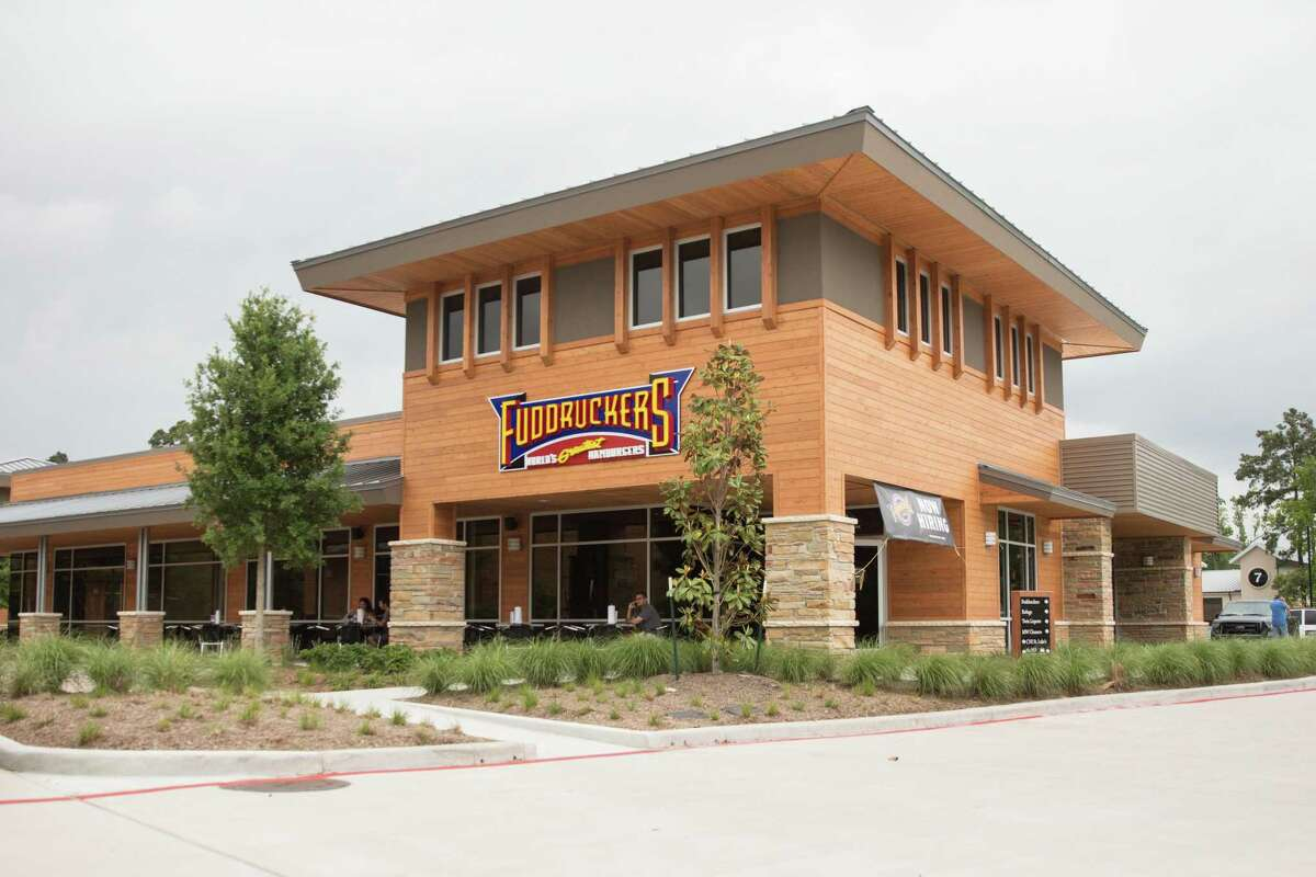 The Fuddruckers restaurant at 8510 Creekside Forest Drive in The Woodlands.