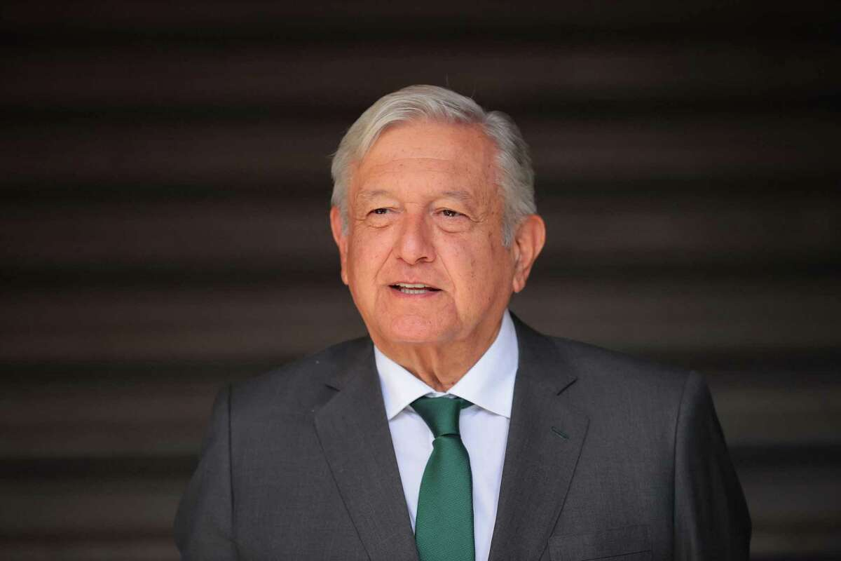 Andres Manuel Lopez Obrador President of Mexico. Pemex's purchase of the Deer Park refinery raises concerns, the author argues.