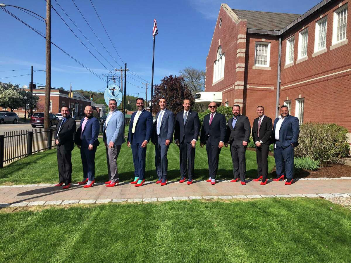 Thomaston Savings Bank supported the Susan B. Anthony Project's annual Walk A Mile in Her Shoes event, held May 21.