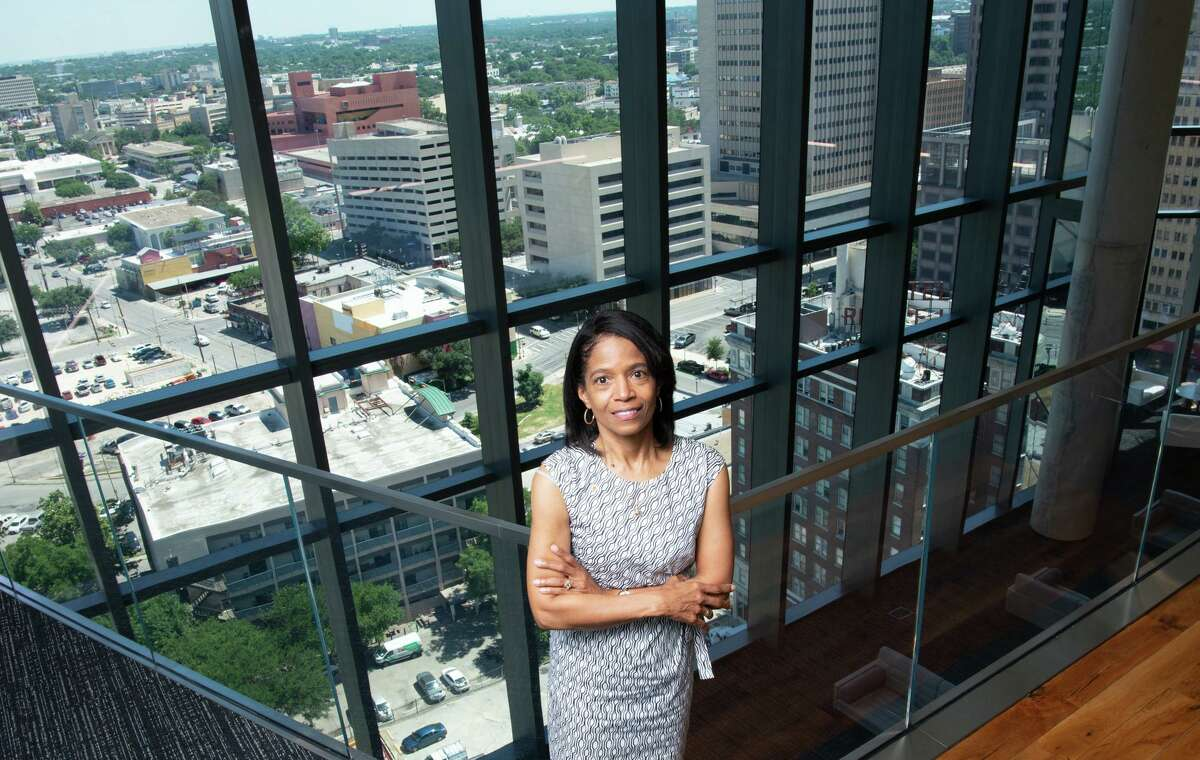 Karen White, 61, is tasked with diversifying the workforce at Frost Bank.