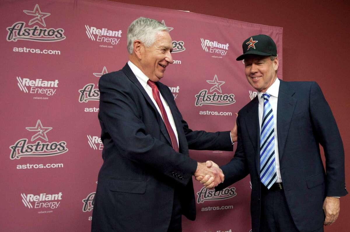 Astros owner Jim Crane claims that former owner Drayton McLane and Comcast defrauded him by failing to disclose the potentially perilous position of the Astros-Rockets-Comcast regional sports network when Crane bought the Astros in 2011.