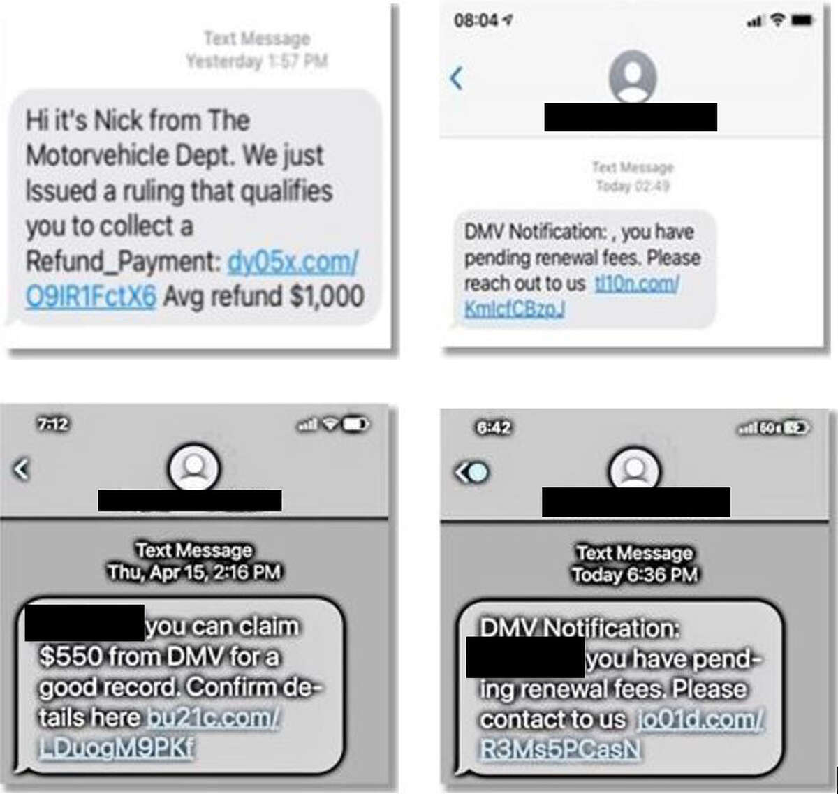 Examples of suspicious messages to look out for