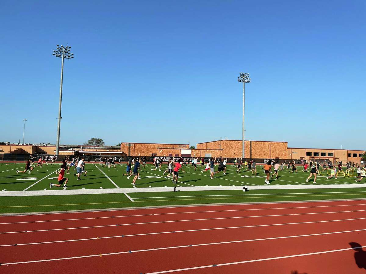 Summer strength & conditioning camps and sports-specific instruction began Monday, June 13 at all Cy-Fair ISD campuses including Cy-Fair High.