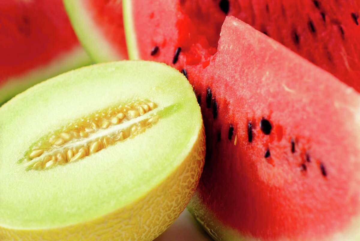 Selecting a ripe melon requires using many of your senses.