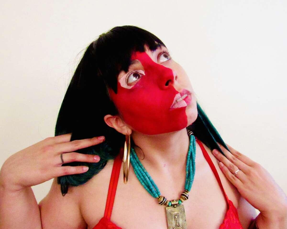 Albany alt-pop artist Triya Love.
