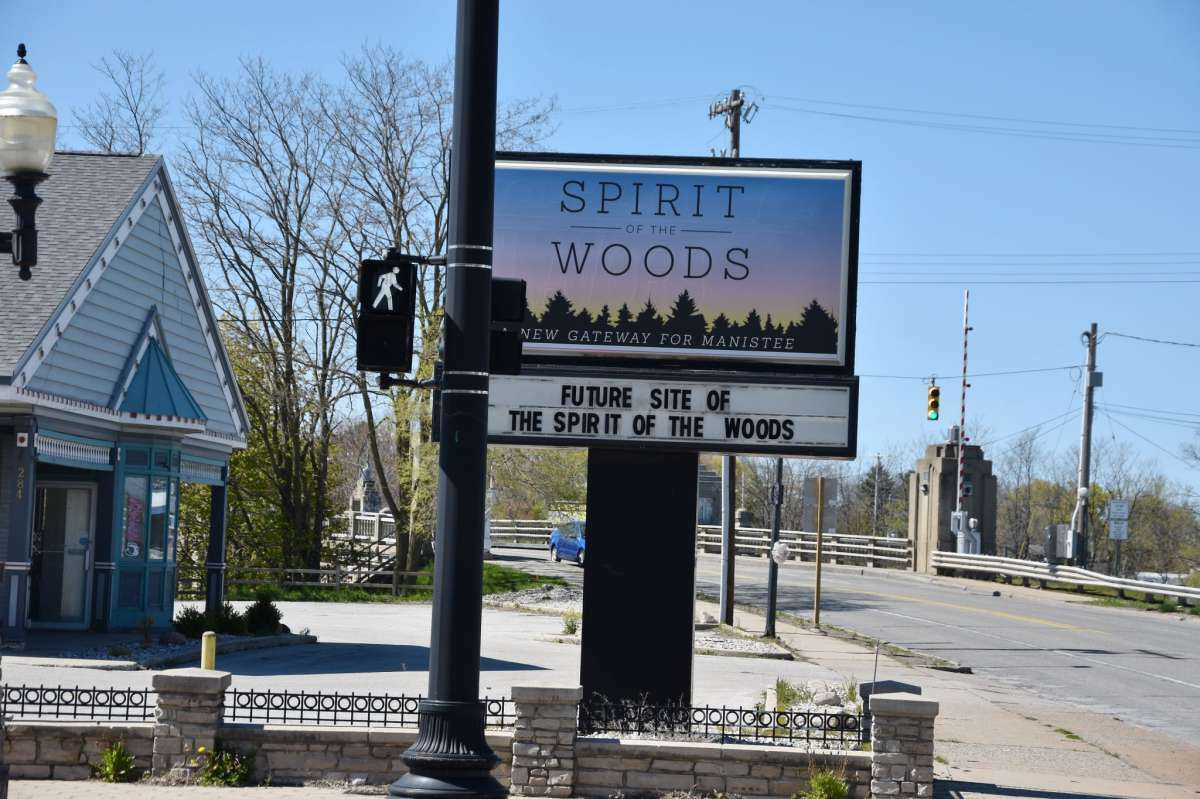 The Spirit of the Woods Gateway project in Manistee may see loan and grant funding if applications are approved by the state.