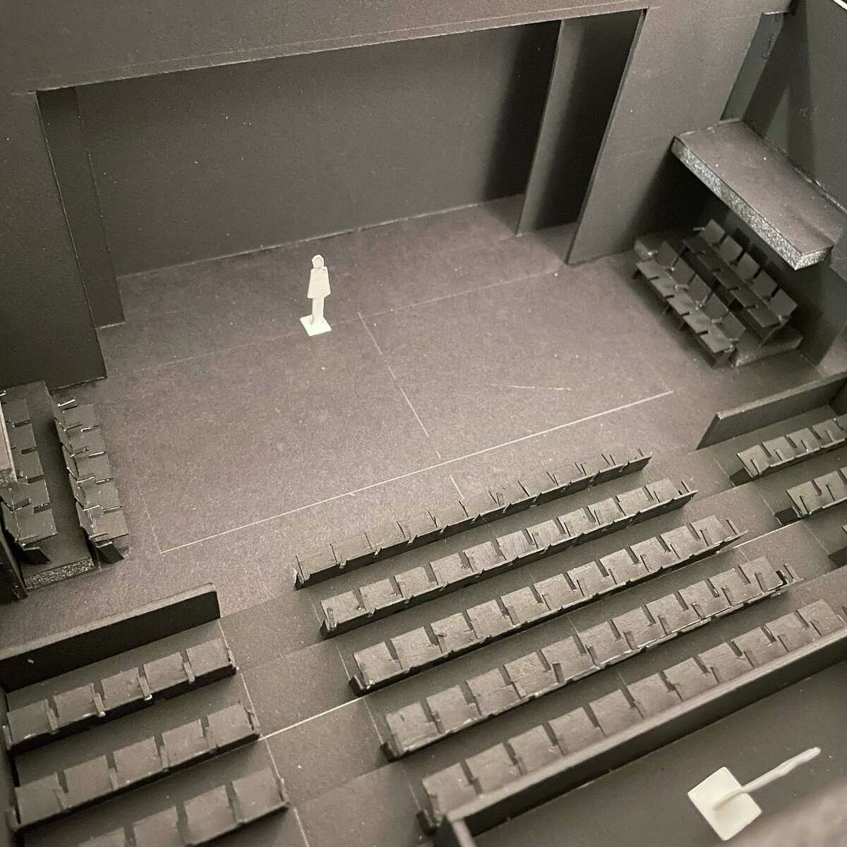 Class Act Productions recently launched a campaign to open a new 125-seat theatre in South Montgomery County. Pictured is a model of what the space will look like once completed.
