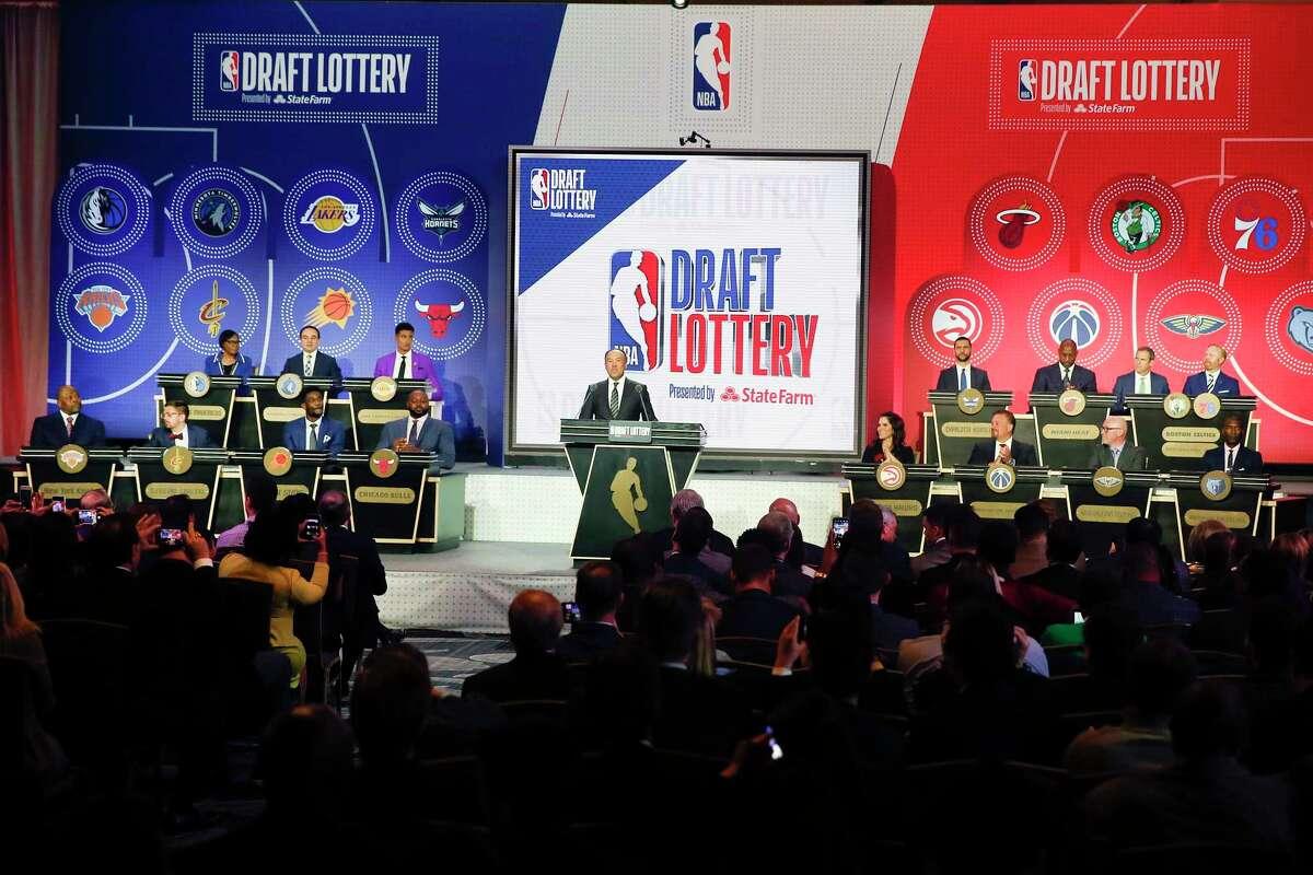 Rockets' history in draft lottery