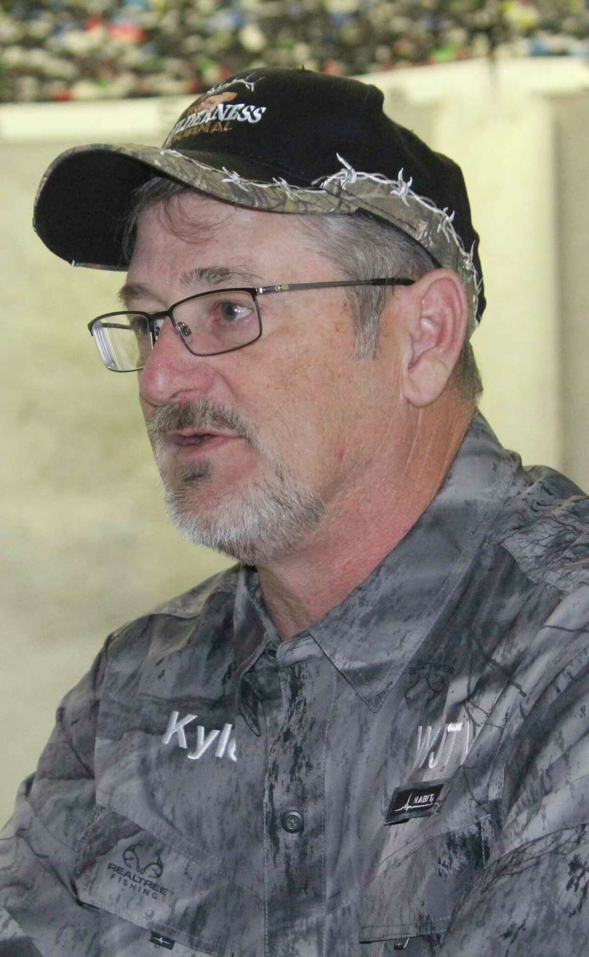 Kyle Randall says more rain is needed for area fishing spots. (File photo)