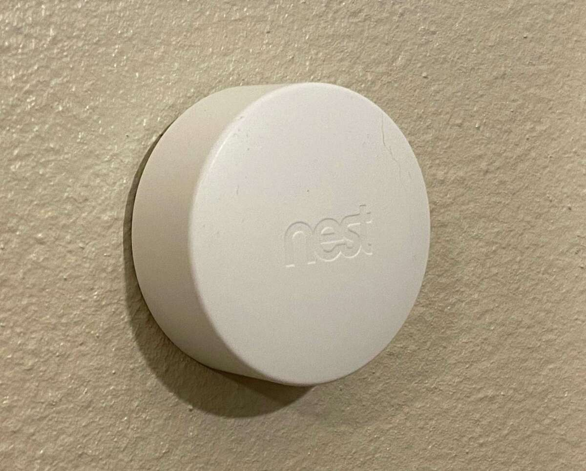 The Nest Temperature Sensor lets a customer control which rooms get the focus for heating or cooling. With the Nest app, customers can tell their thermostat that they want it to run heating and cooling based on the temperature in the room where the sensor is located.