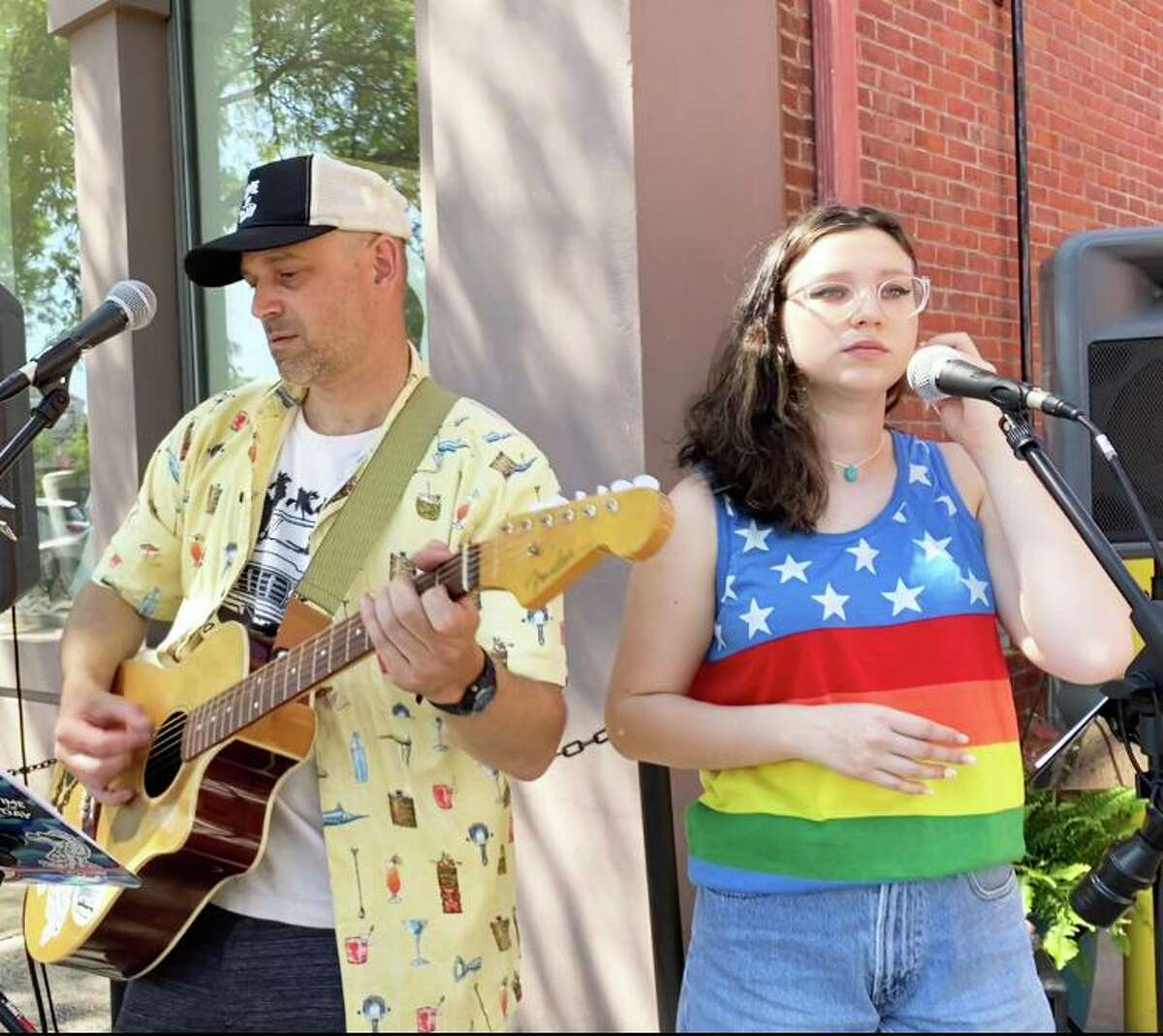 World Music Day in Middletown will feature a multitude of acts, such as Time of Day Acoustic with Dave (left) and his daughter Georgie TenEyck (right) and others, including Corey Tribz, up-and-coming guitarist Greyson Charles, Jenavieve Hawks, Amanda Brite, Wiberi Jordan, and Cessa and the Zach, a brother and sister duo. They will be stationed at Cinder + Salt on Main Street from 6 to 8 p.m.