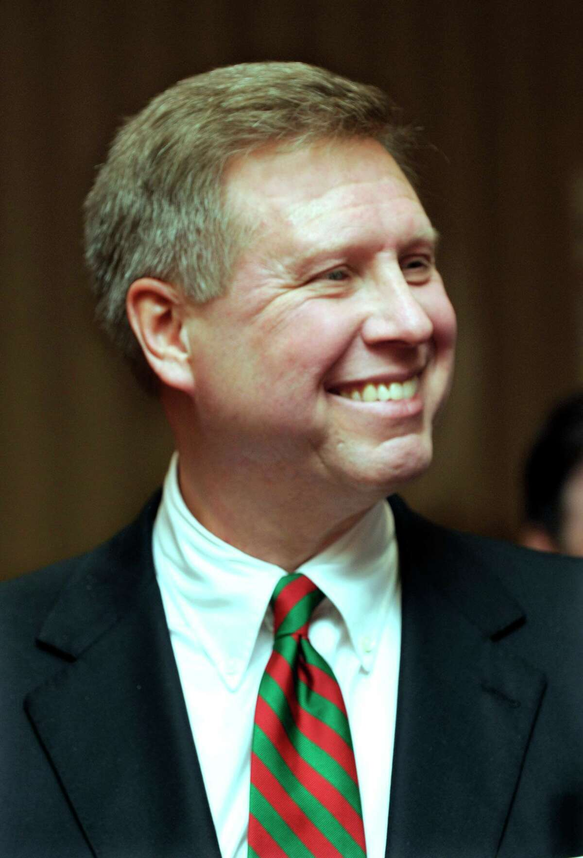 Bruce R. Tuomala has been named the new economic developement director for the city of Danbury. Photo taken Friday, Dec. 16, 2011.