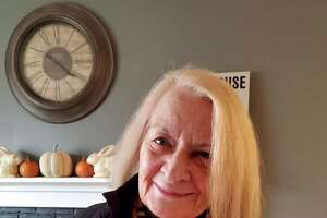 Ruth Whalen, 85, of Ridgefield, has Alzheimer's disease and lives at home with the help of a caregiver from Griswold Home Care. Whalen has four children and nine grandchildren and worked as a secretary for the superintendent in White Plains, N.Y.