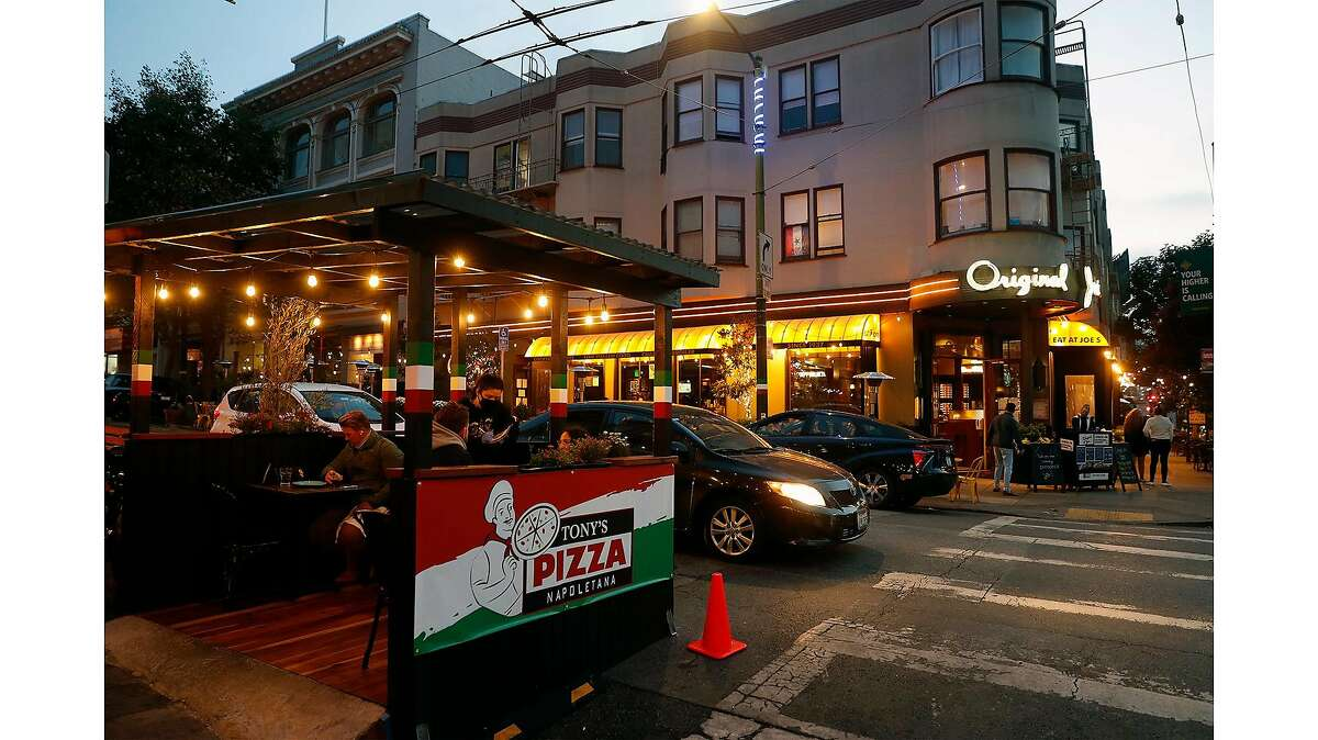 Tony's Pizza and Original Joe's in North Beach made it through the lockdown, thanks to dining parklets.
