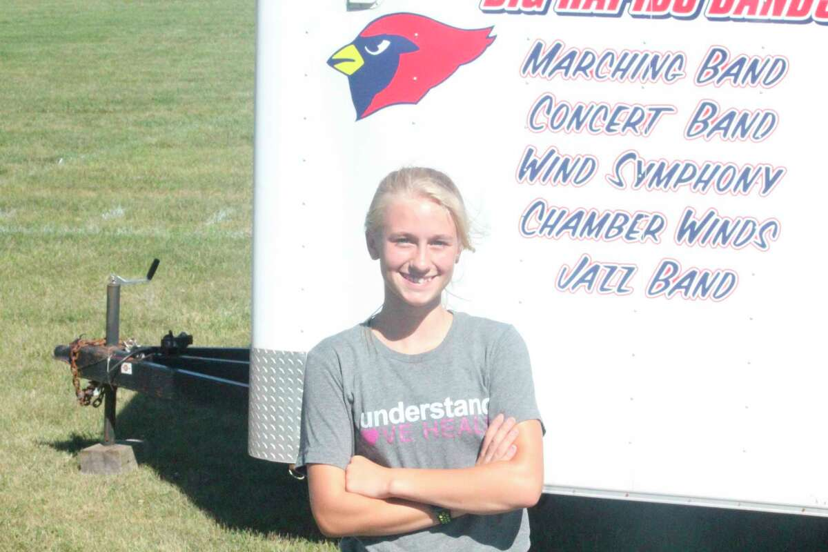 Gwen Rickard will be a sophomore next season for Big Rapids' track team. (Pioneer file photo)