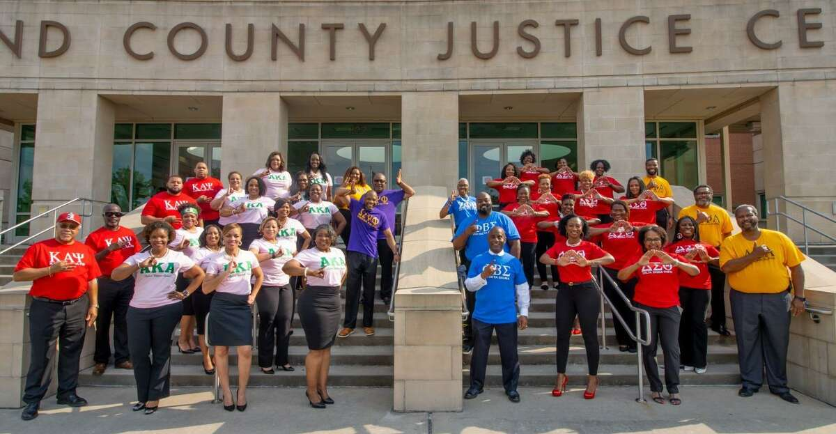 On Friday, June 18, 2021, Fort Bend County recognized its elected officials and county-level employees who are members of African American Greek Letter organizations.