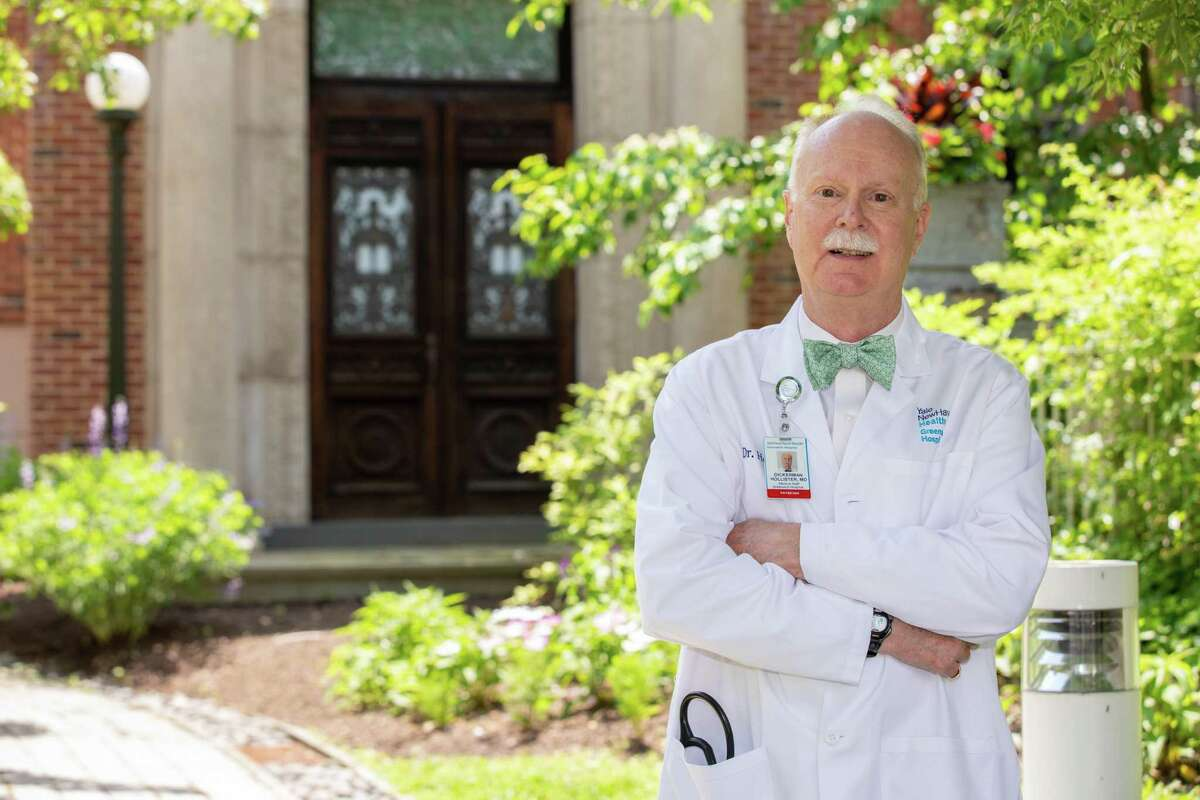Dr. Dickerman Hollister is retiring after a 40-year career in medicine in Greenwich.