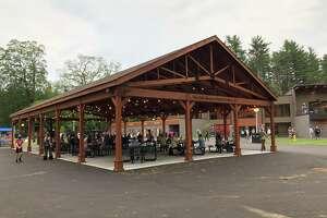 The new Julie Bonacio Family Pavilion at Saratoga Performing Arts Center in Saratoga Springs on Friday, June 18, 2021. (Credit: Jim Shahen Jr.)