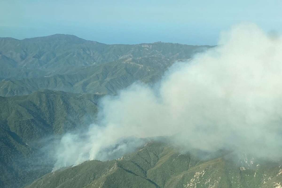 The Willow Fire started on the evening of June 17, 2021, near Big Sur.
