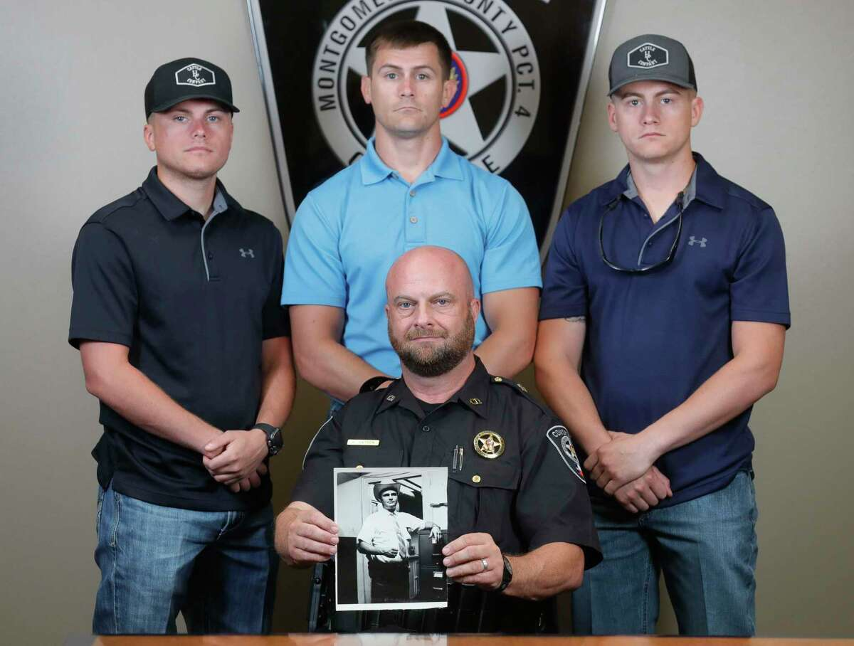 The Hayden family has a history of service that began with former Precinct 4 Constable Charles Hayden.