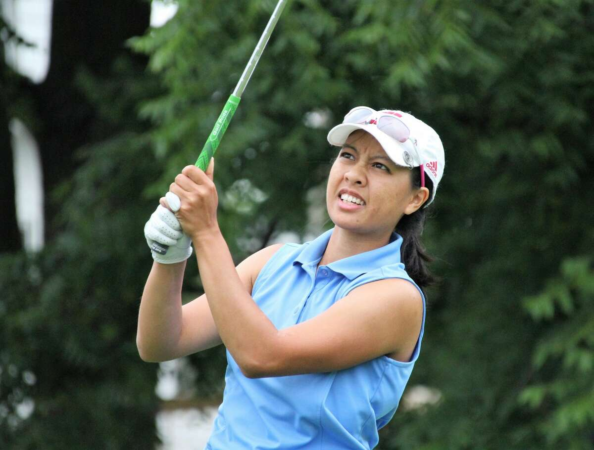 Midland's Kim Dinh competes in the 2020 Michigan PGA Women's Open in East Lansing.
