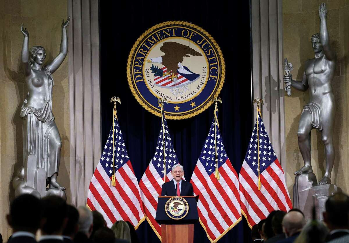 U.S. Attorney General Merrick Garland announces plans Tuesday for combating domestic terrorism.