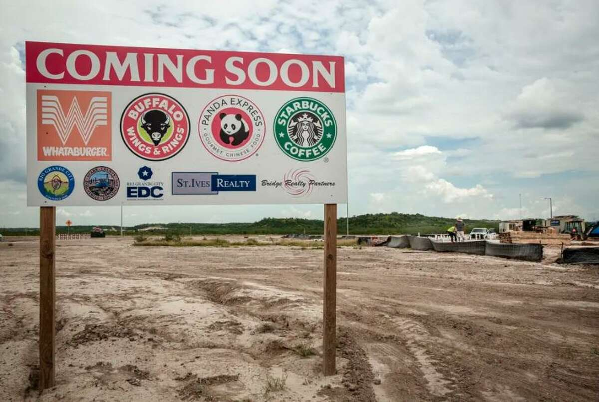 A planned development is shown off of U.S. Highway 83 and Pine Street in Rio Grande City on June 17.