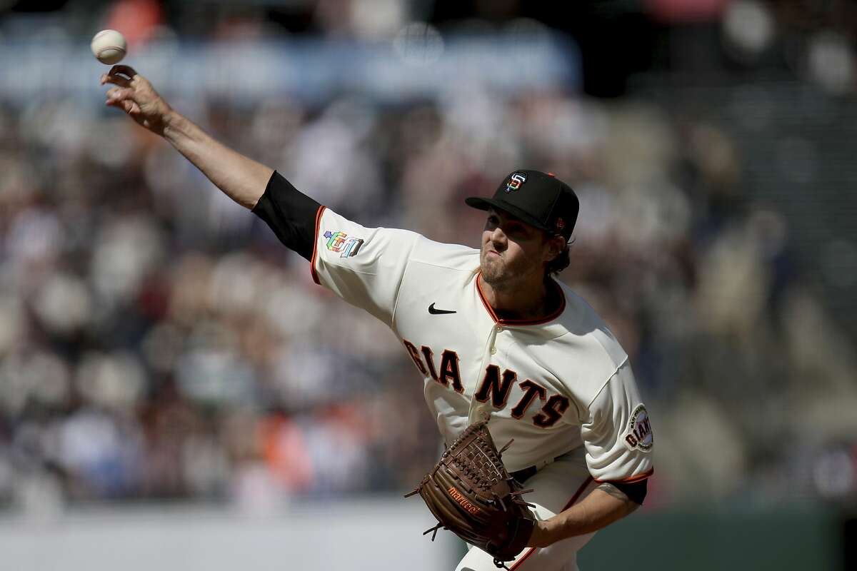 The Giants' pitcher with the highest spin on his fastball (2,293) is Kevin Gausman, who is having his best year.