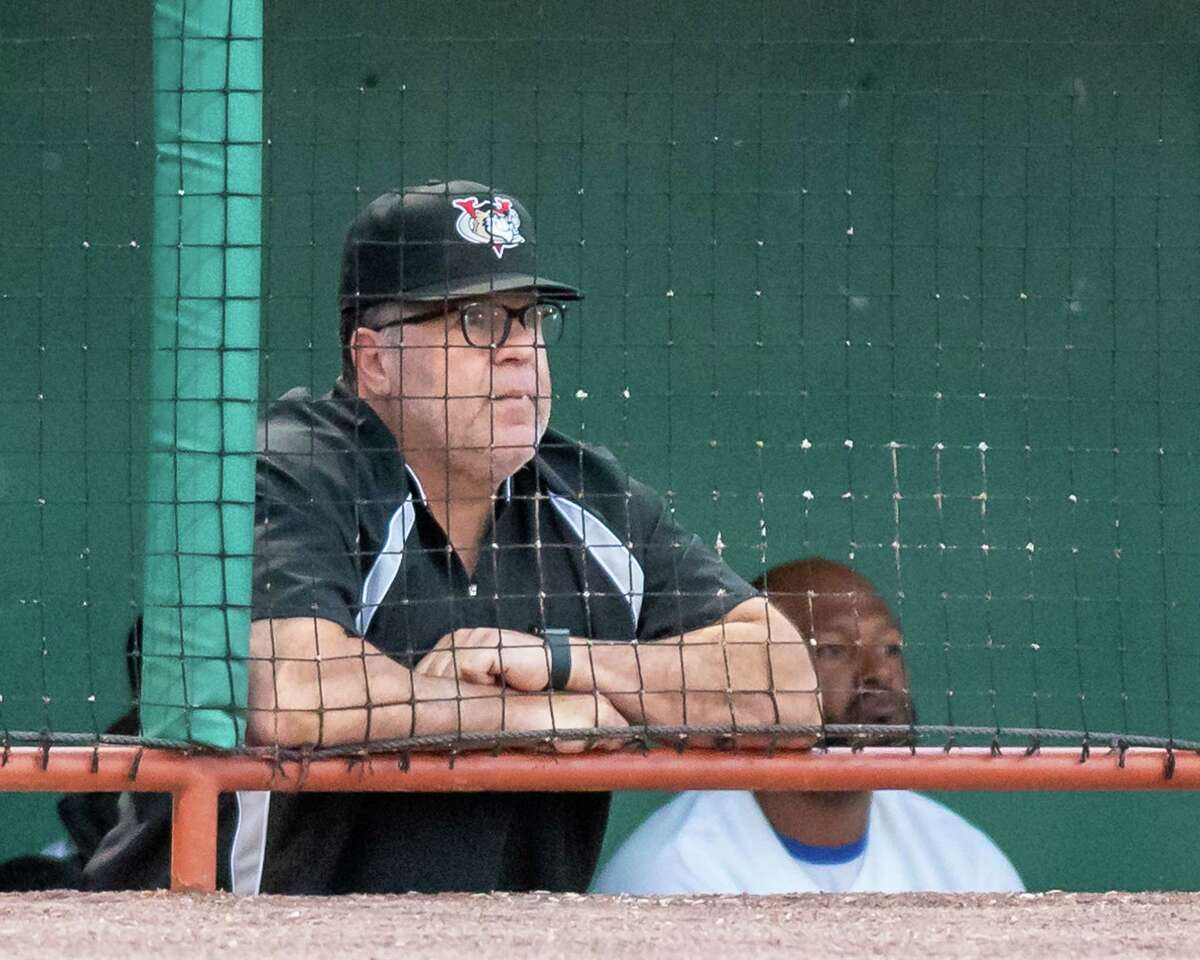 Tri-City ValleyCats manager Pete Incaviglia during a game against the Sussex County Miners at the Joseph L. Bruno Stadium on the Hudson Valley Community College campus in Troy, NY, on Saturday, June 19, 2021 (Jim Franco/Special to the Times Union)