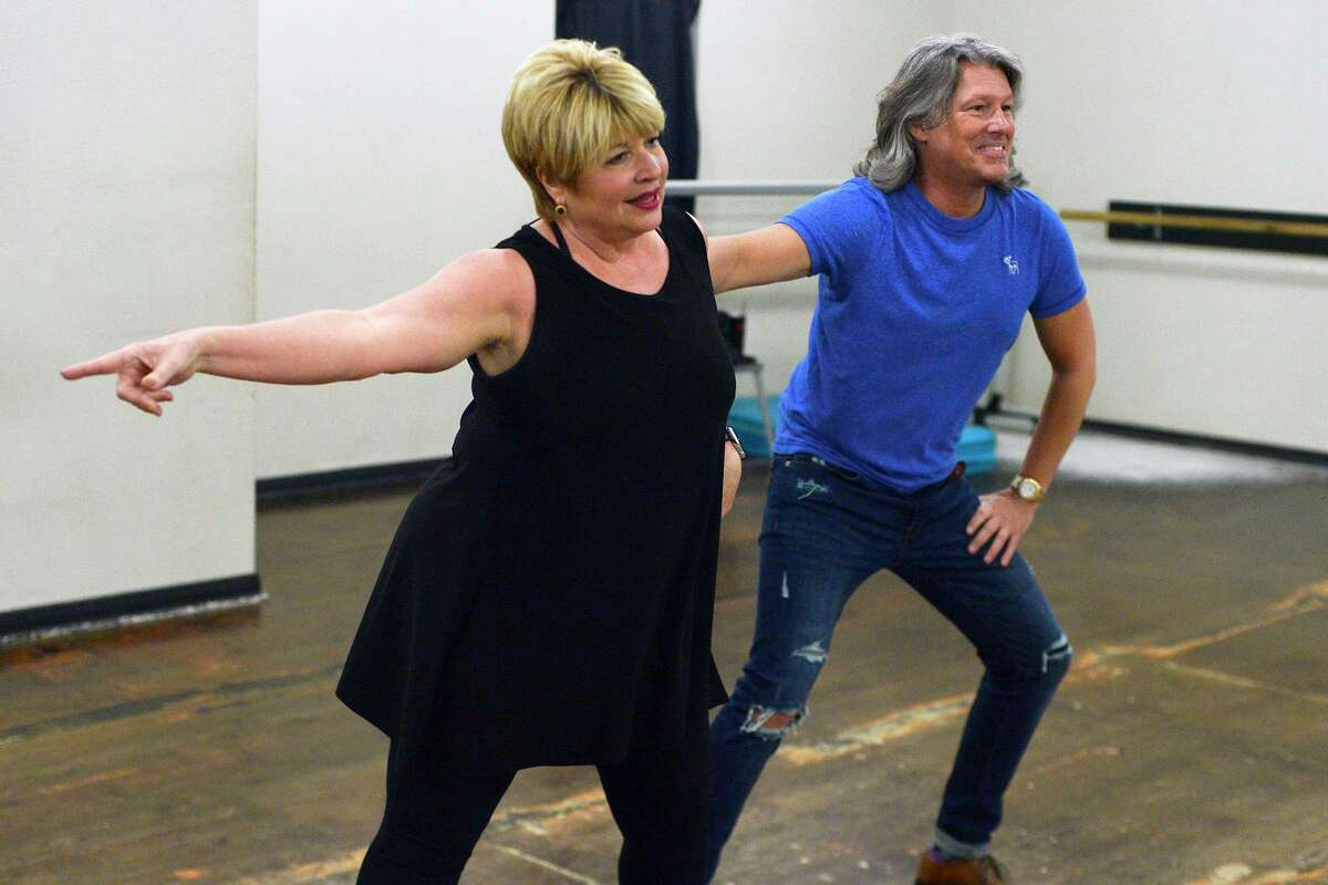 Michael Manuel and Beaumont Mayor Becky Ames rehearse their routine for Dancing with the Stars of Southeast Texas at iRule Dance. Photo taken Thursday 2/22/18 Ryan Pelham/The Enterprise