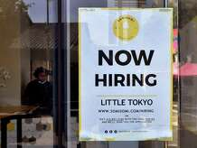 (FILES) In this file photo taken on May 28, 2021 a 'Now Hiring' sign is posted in front of an ice-cream shop in Los Angeles, California. - New applications for US unemployment benefits increased last week for the first time in seven weeks, according to government data on July 17, 2021, breaking a streak of declines as Covid-19 vaccines have allowed businesses to reopen and rehire. Jobless claims rose to 412,000, seasonally adjusted, in the week ended June 12, which was 37,000 more than the previous week, the Labor Department said. (Photo by Frederic J. BROWN / AFP) (Photo by FREDERIC J. BROWN/AFP via Getty Images)