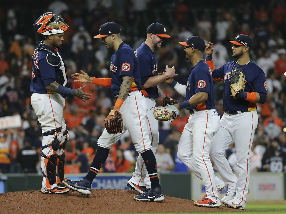 The Astros tweaked their lineup again Sunday.