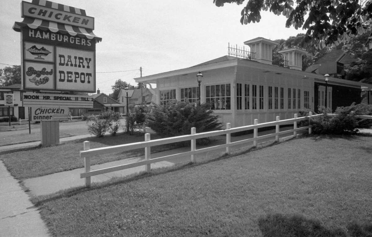 This photo shows a view from 40 years ago of the Dairy Depot, which was formerly located at 206 Cypress St. The photo was published in the News Advocate on June 21, 1981.(Manistee County Historical Museum photo)