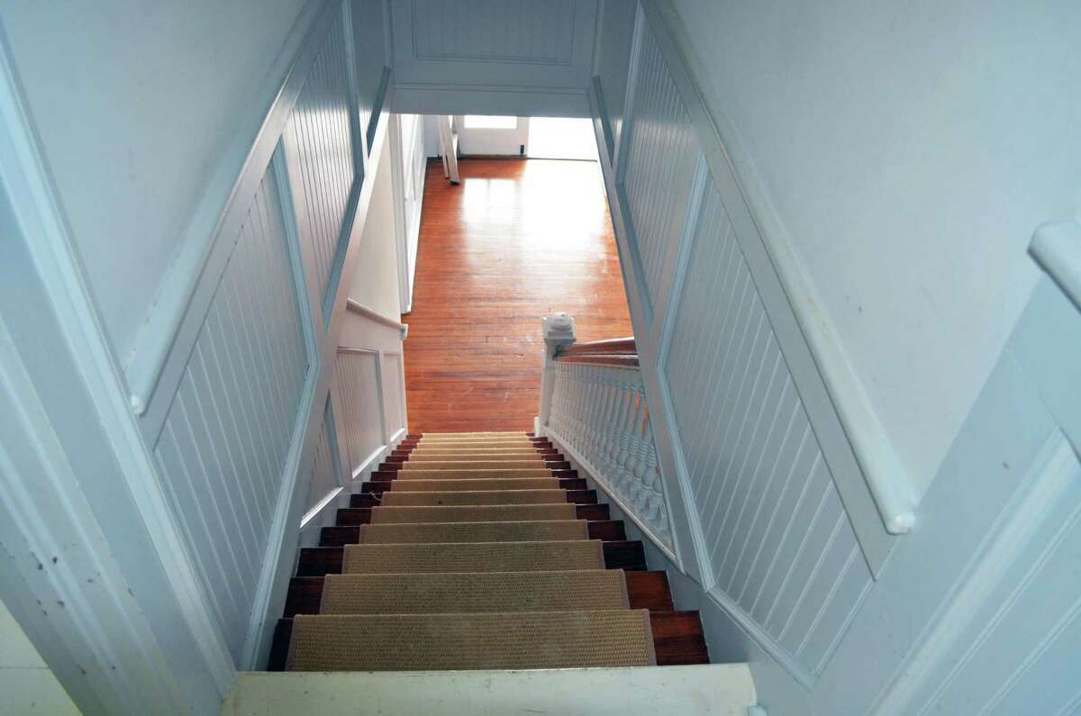 Stairwell at 44 Wakefield Road.