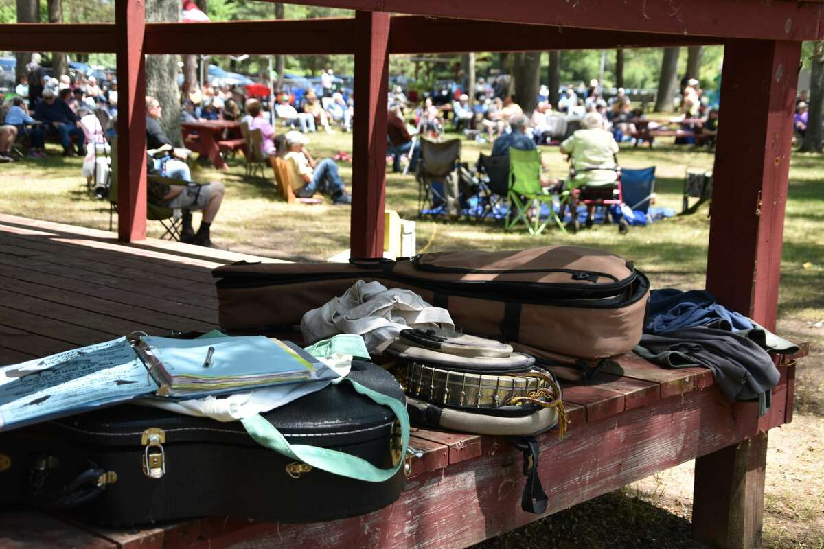 Dickson Township Park in Brethren was packed with people ready to make up for lost time after the 2020 miss for the annual Spirit of the Woods Folk Festival.