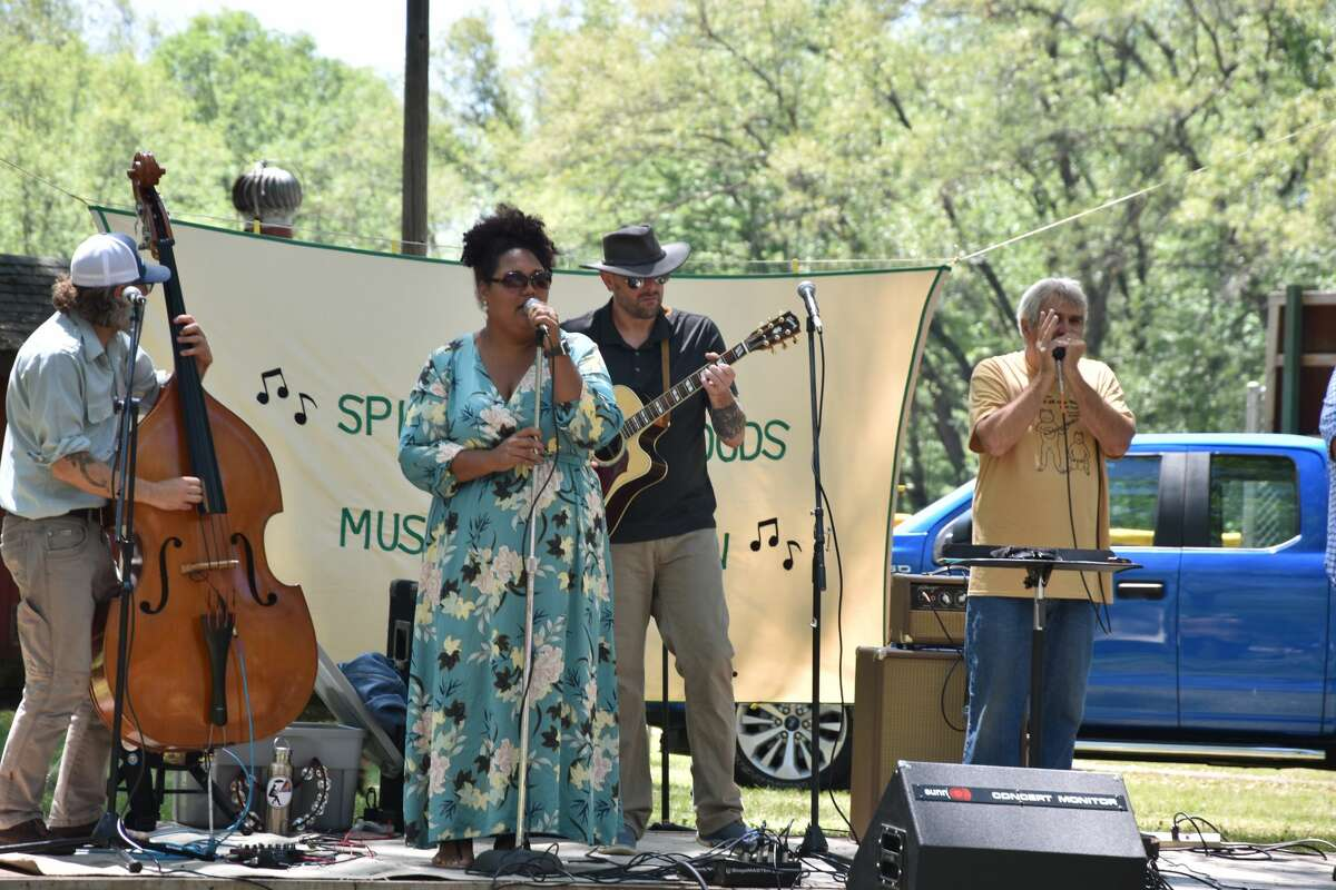 Spirit of the Woods Folk Festival opened the 43rd annual event with performances by Barefoot.