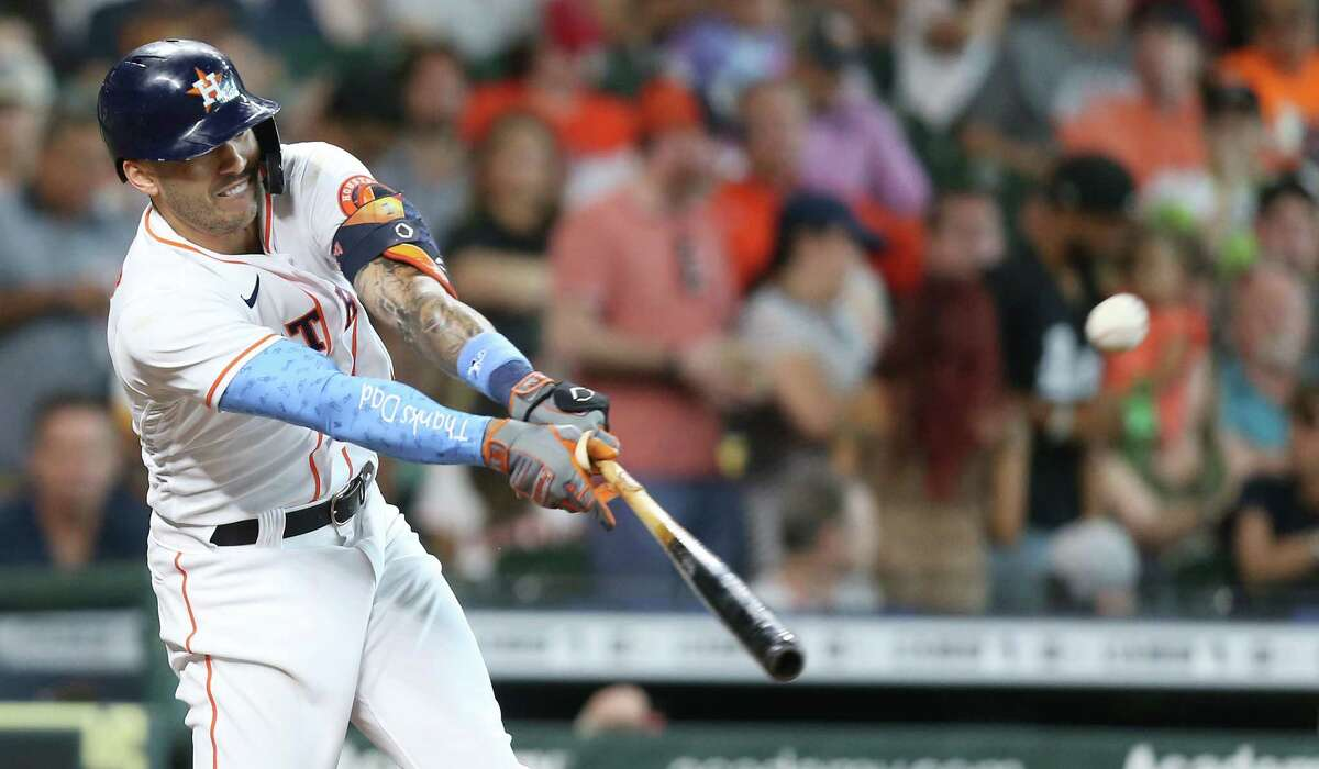 In 22 games since abandoning the leg kick in his batting stance on May 26, Correa is slashing .367/.515/.759.