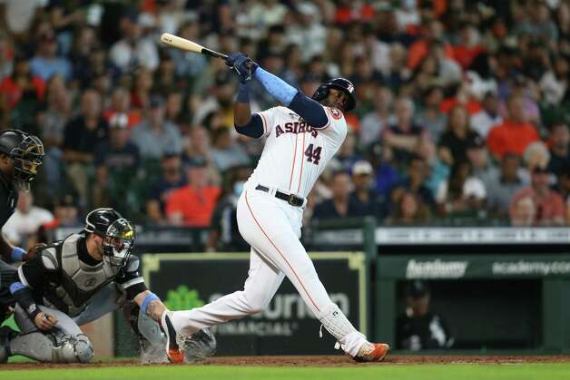 inning at Minute Maid Park in Houston on Sunday, June 20, 2021. Photo: Elizabeth Conley, Staff Photographer / © 2021 Houston Chronicle