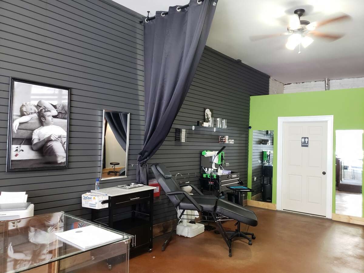 Clean Lines Tattoo Company officially opened on Saturday for a grand opening event at 336 River Street, in Manistee.