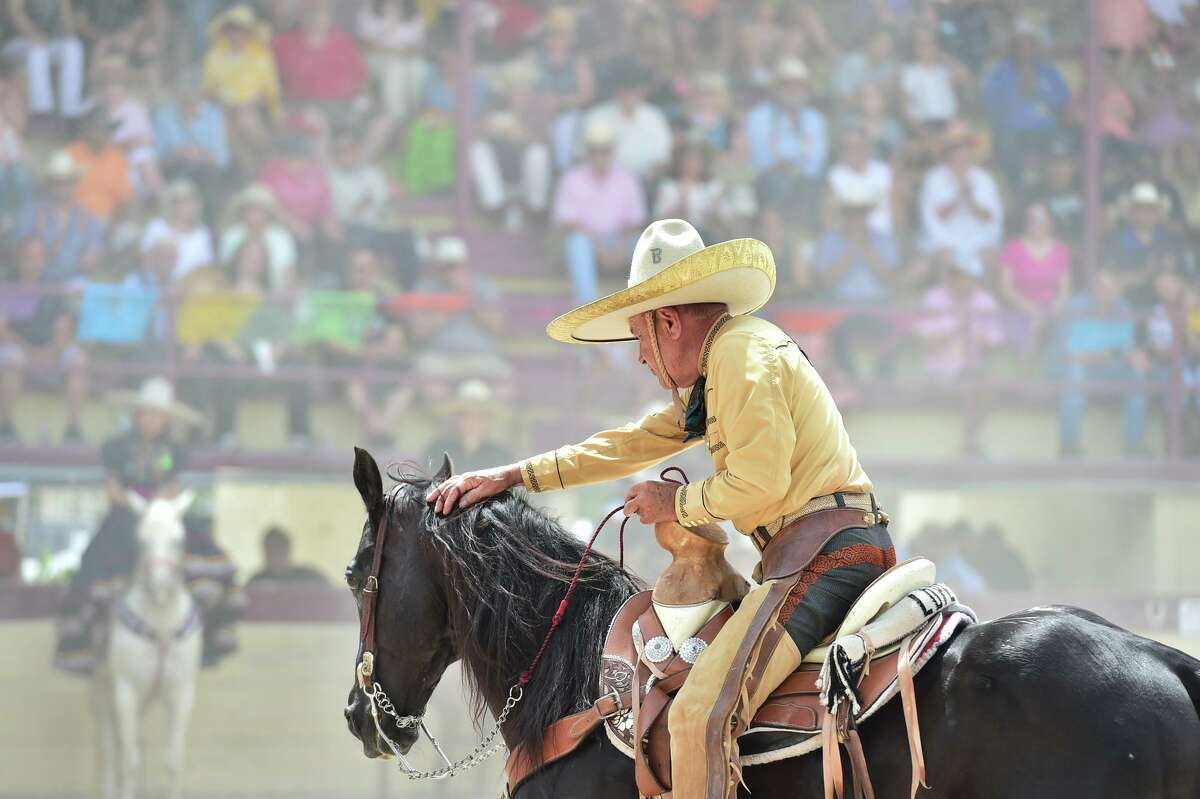 Robert Lopez is 78 years old and the oldest participant in the Day in Old Mexico and Charreada event Sunday afternoon.