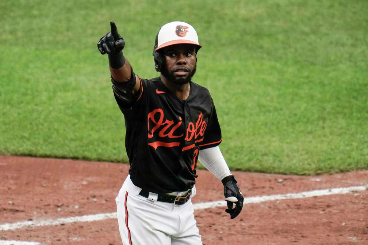 No major leaguer has a higher average in his team's victories than Orioles center fielder Cedric Mullins, who has batted .441 (41 for 93) in Baltimore's 23 wins, with hits in 22 of those games.