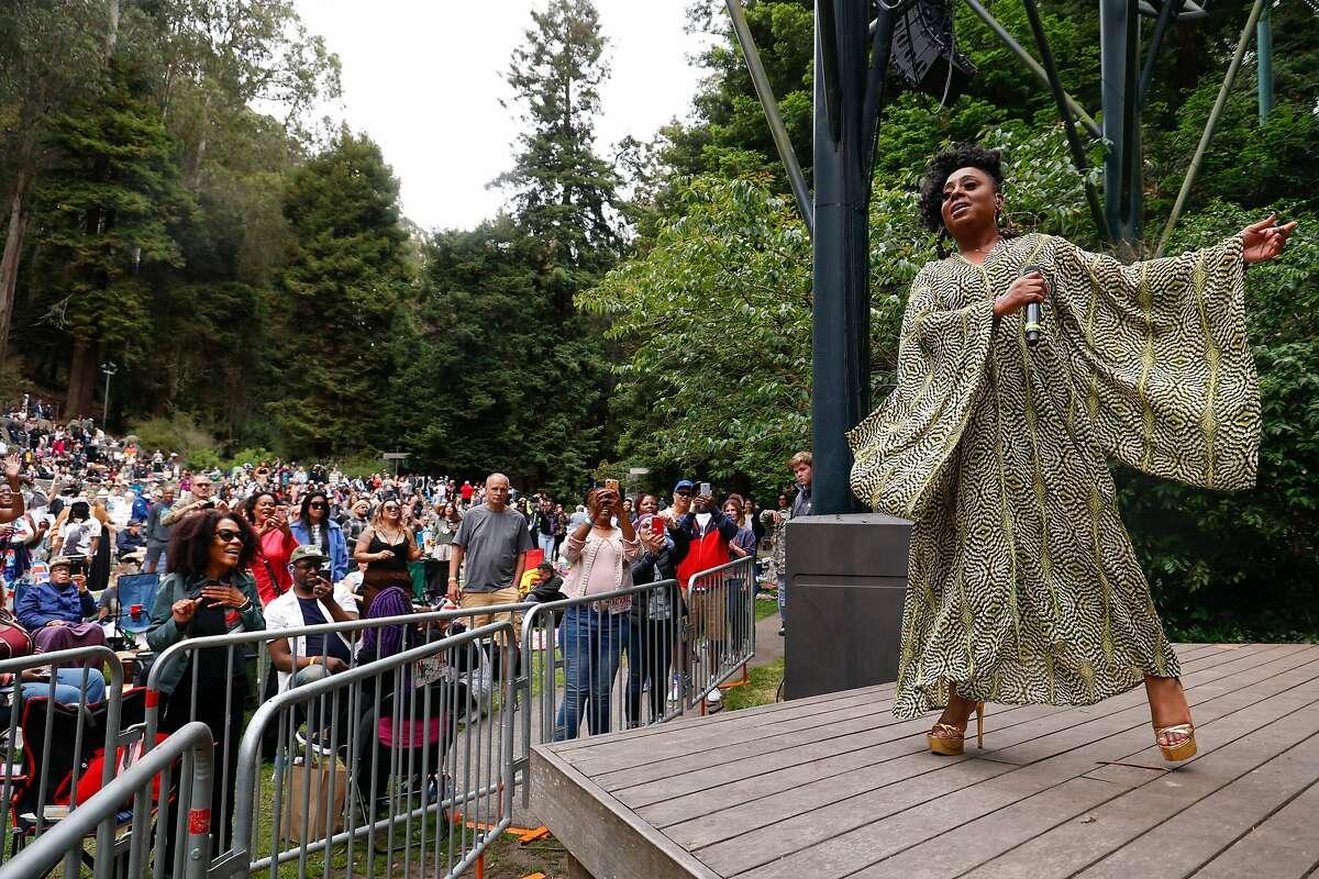 Oakland soul singer Ledisi headlined the Stern Grove Festival season opener after 15 months of shutdown.