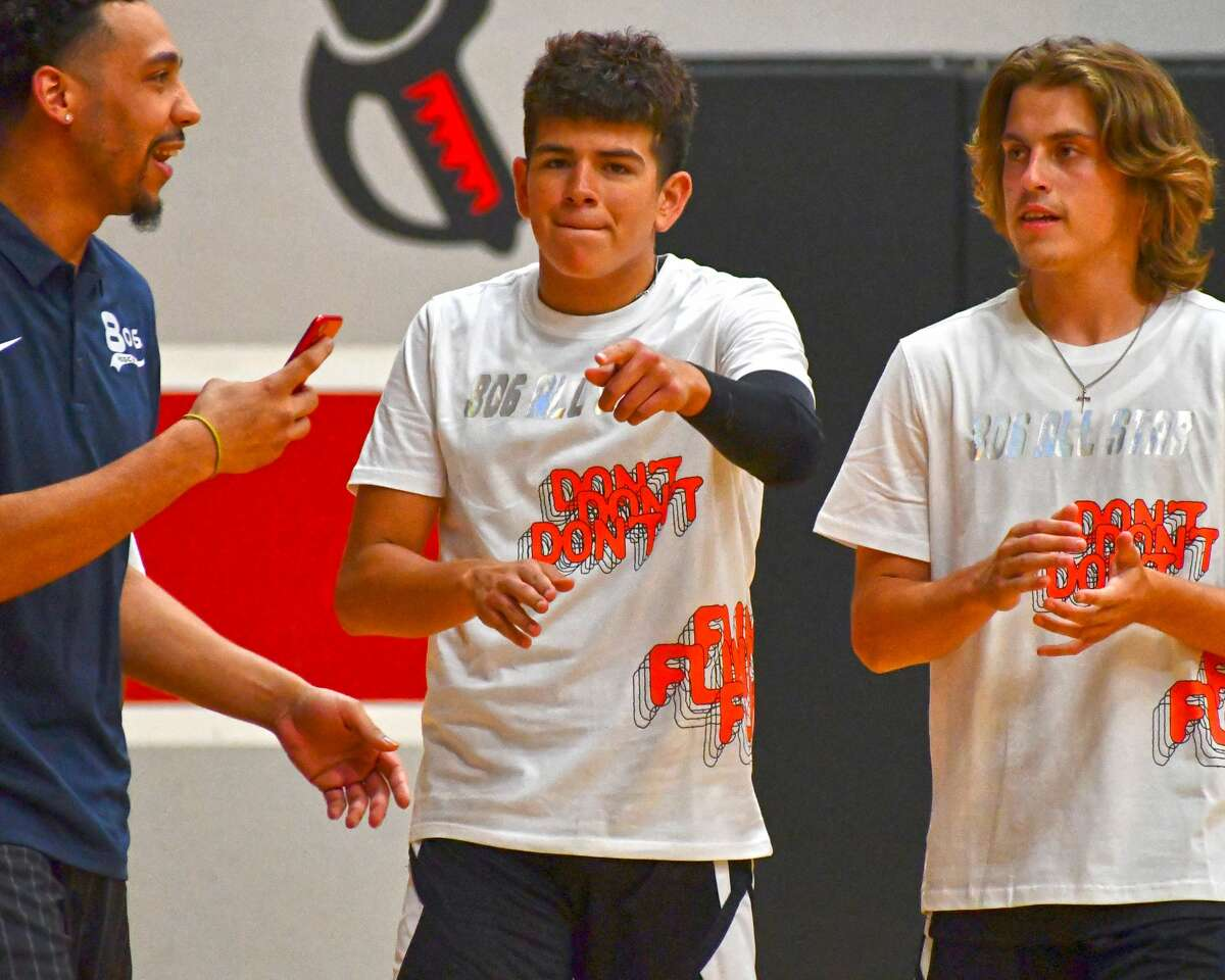 Lubbock-Cooper was the sight for the first-ever 806 All-Star Basketball Games on Sunday afternoon. Plainview's Adolfo Martinez teamed was joined by Floydada's Quincy Gonzales and Tulia's Skyvon White on Team Black and Tulia's Travon McCaslin played for Team Grey in the boys game.