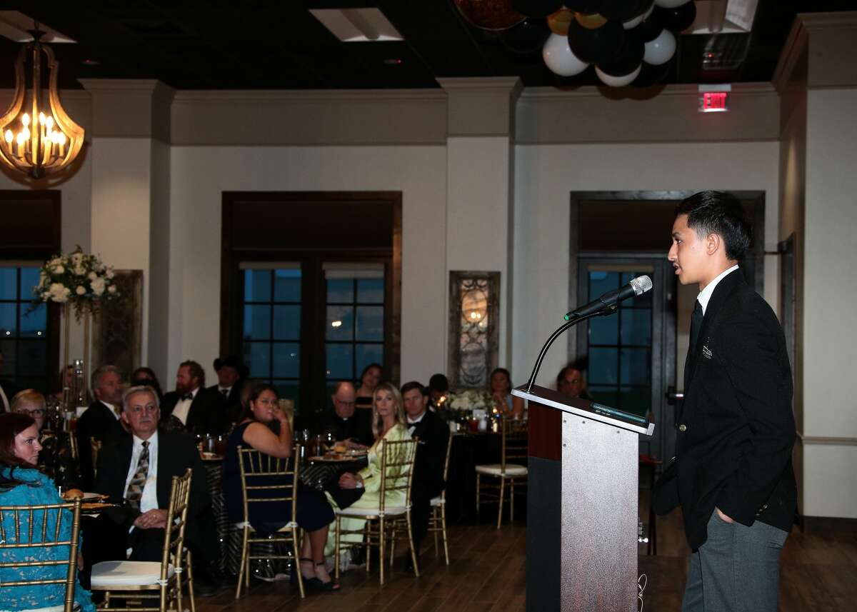 Picture from the Black and Gold gala