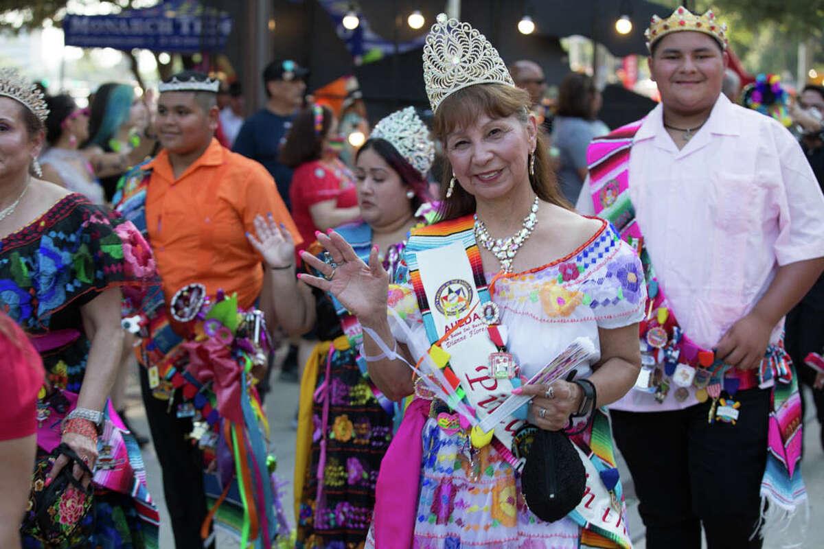 Scenes from Fiesta San Antonio's June kickoff
