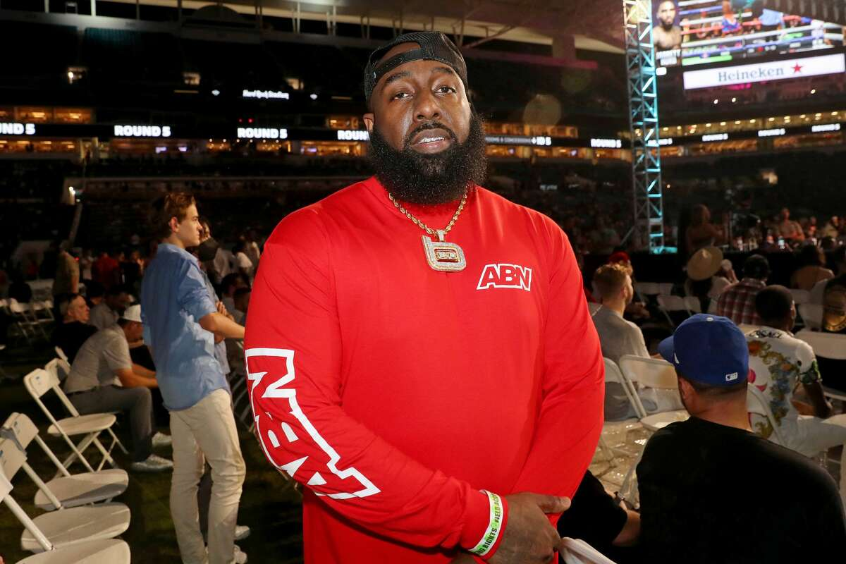 Trae Tha Truth is Houston's real hero. (Photo by Johnny Nunez/Getty Images)