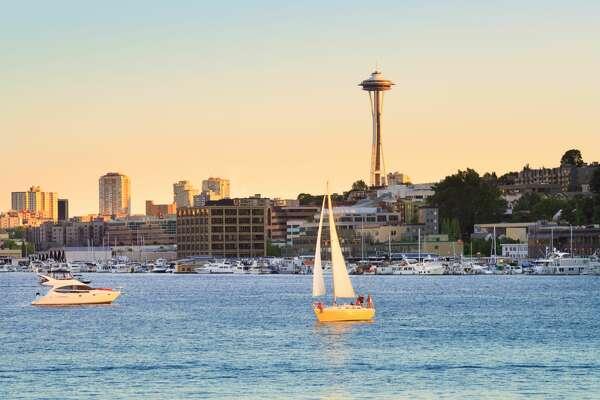 Boats on Lake Union, Seattle