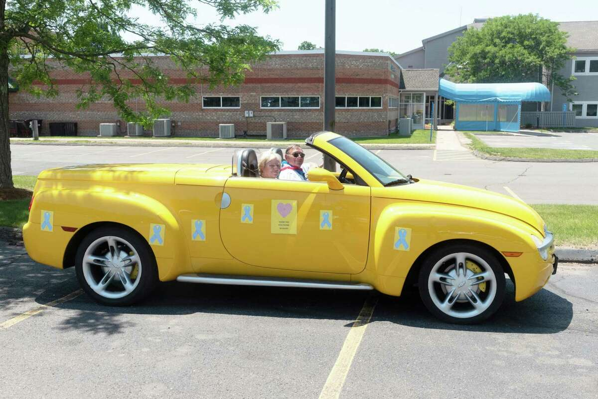The Middlesex Health Cancer Center recently held its annual survivors day event in Middletown in drive-thru fashion.