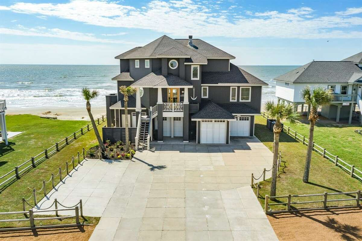 Beachfront homes in Galveston are priced at $600,000 and up.